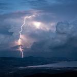 23. Jaanuar 2019 - 17:34 - Positive lightning in the Gulf of Saint Tropez