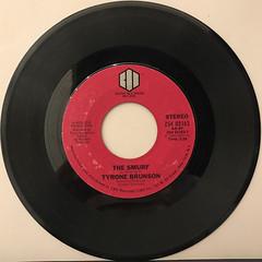 TYRONE BRUNSON:THE SMURF(RECORD SIDE-A)
