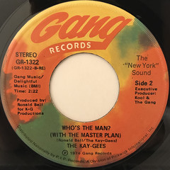 THE KAY-GEES:MASTER PLAN(LABEL SIDE-B)