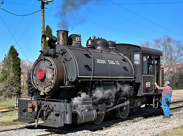 Jeddo Coal locomotive