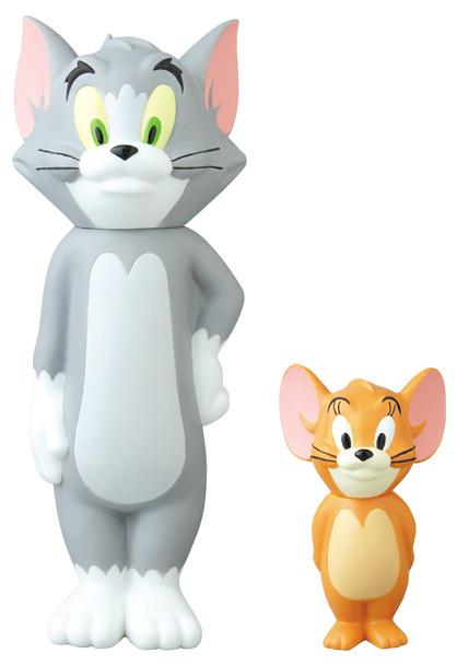 VCD《湯姆貓&傑利鼠》誕生80週年紀念作品「湯姆貓&傑利鼠」!ヴァイナルコレクティブルドールズ No.289 VCD TOM and JERRY