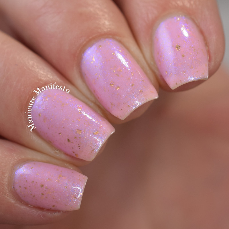 Blush Lacquers Cotton Candy Rays Review
