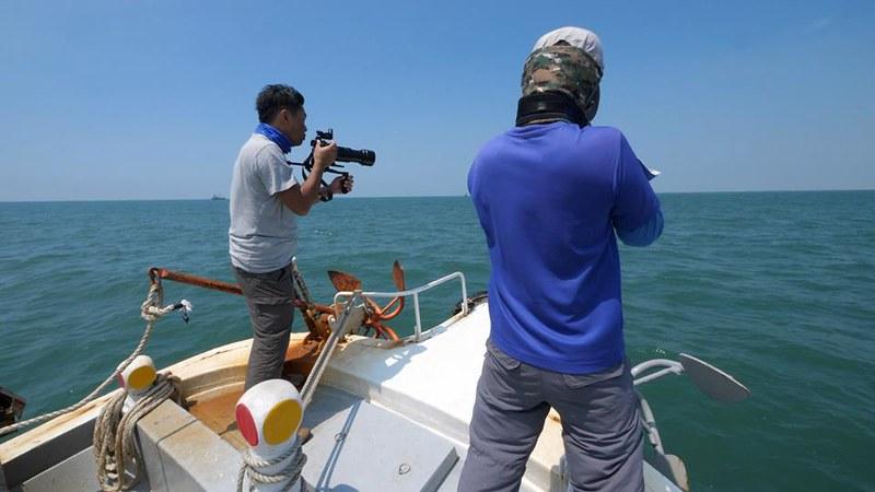 海上的科學家與生態紀錄片導演。
