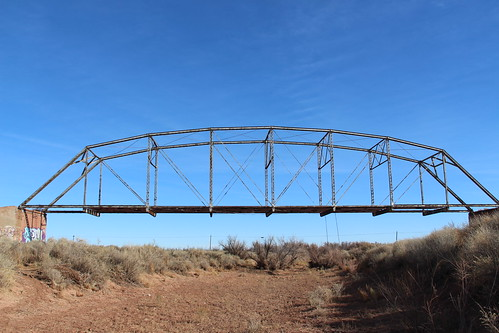 Old Leupp Canyon Diablo Bridge (Coconino County, Arizona)