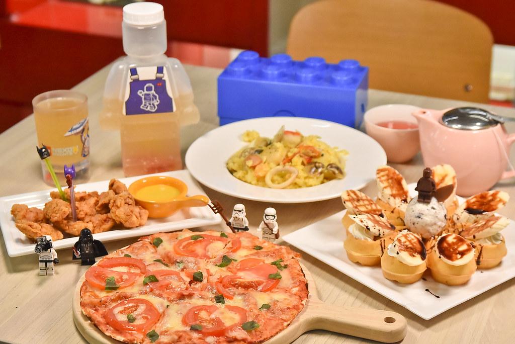 找樂子 積木咖啡 台中 樂高積木 親子餐廳38