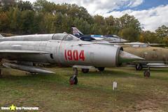 1904---961904---Polish-Air-Force---Mikoyan-Gurevich-MiG-21M---Savigny-les-Beaune---181011---Steven-Gray---IMG_5638-watermarked