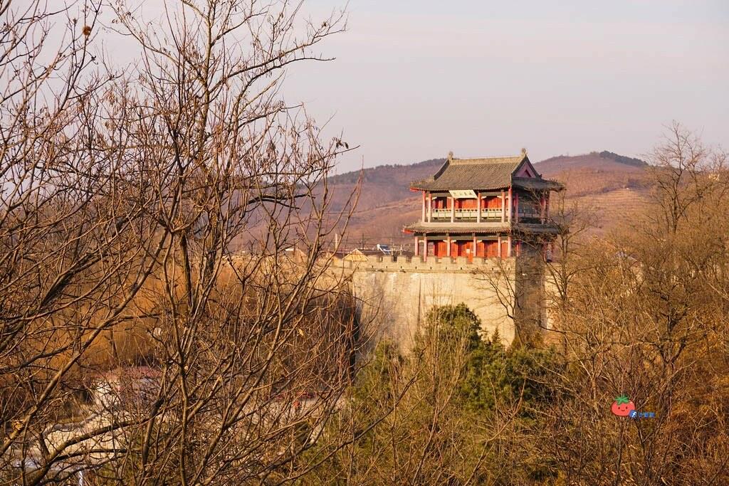 中國東北丹東景點 虎山長城