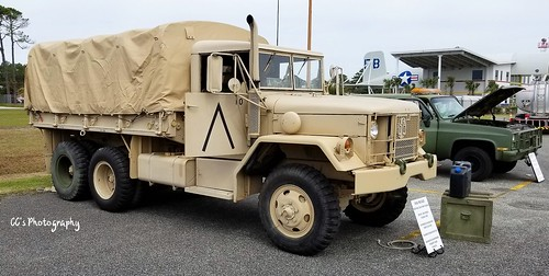 1984 AM General M35 2 1/2-ton Troop Carrier | by http://www.yashicasailorboy.com