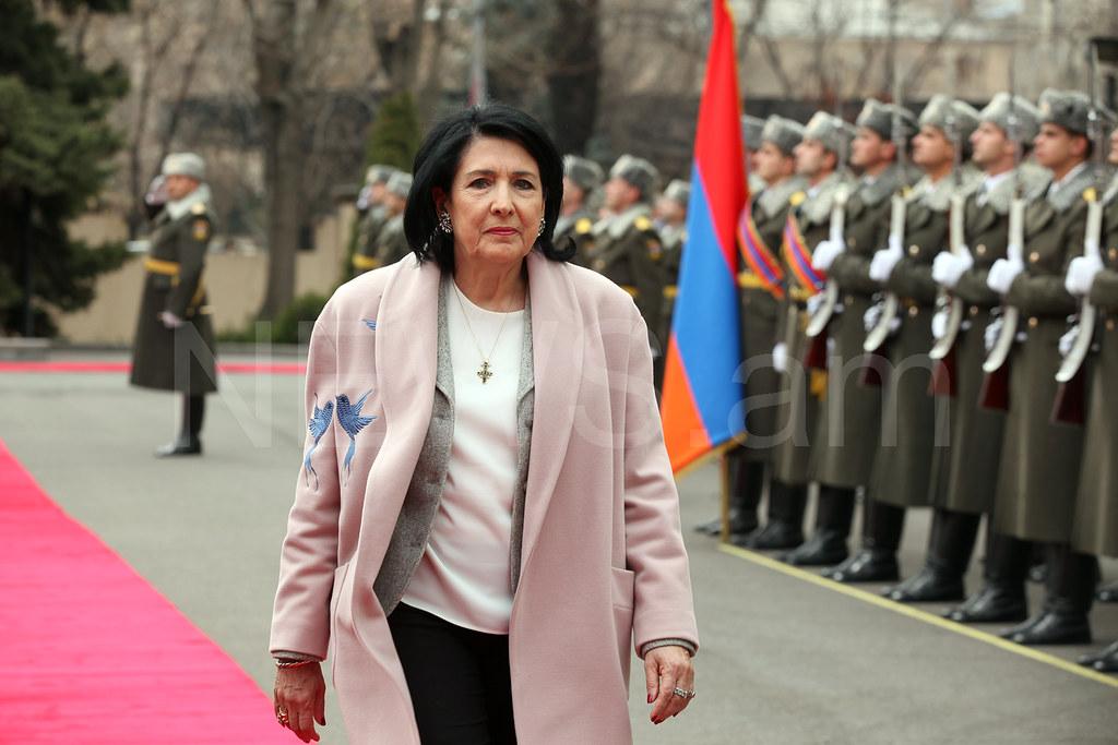 salome zurabishvili armenia ile ilgili görsel sonucu