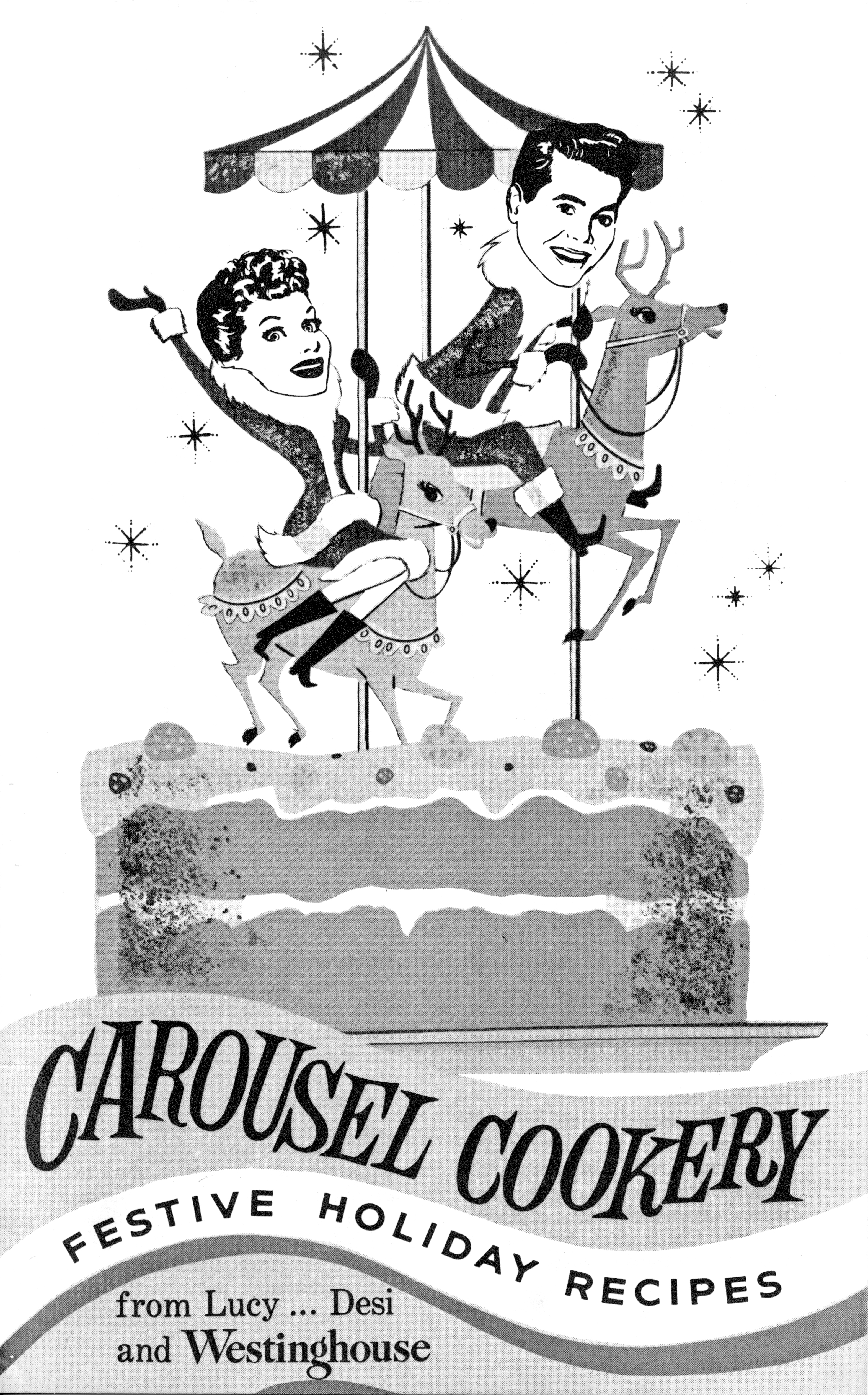 Carousel Cookery/Westinghouse - featuring Lucille Ball and Desi Arnaz - 1959