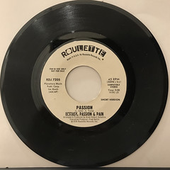 ECSTACY, PASSION & PAIN:PASSION(RECORD SIDE-B)