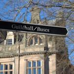 Signage in Preston