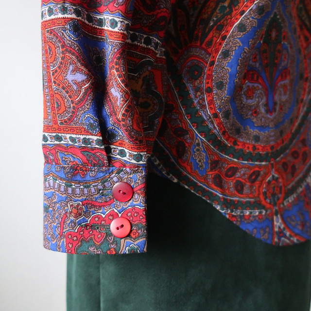 Wool shirt cuff