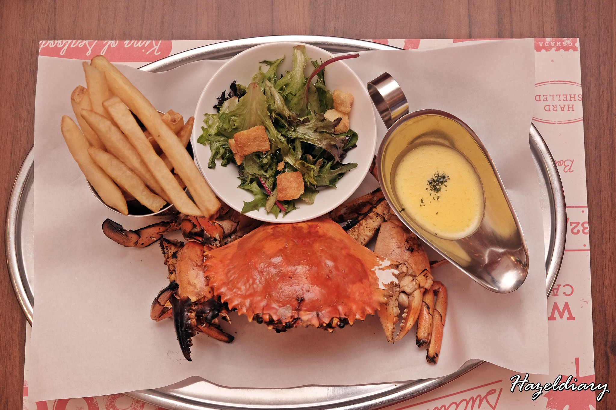 Pince & Pints Duxton Road-Whole Grilled Crab