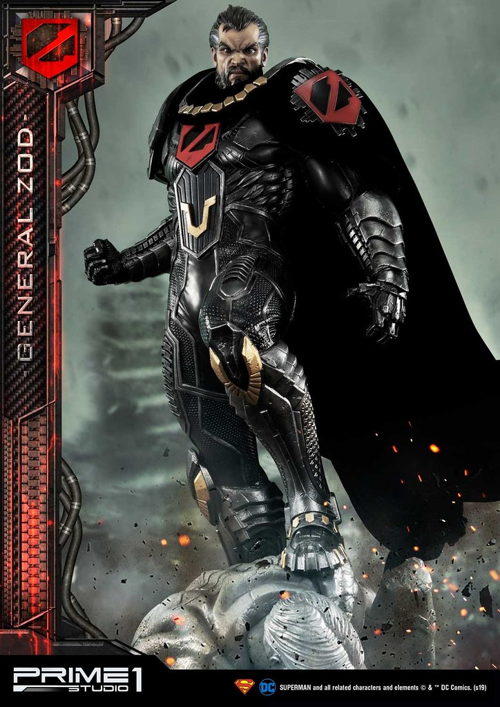 Kneel before Zod!! Prime 1 Studio DC Comics【薩德將軍】ゾッド将軍 MMDC-37 1/3 比例全身雕像作品 普通版/EX版