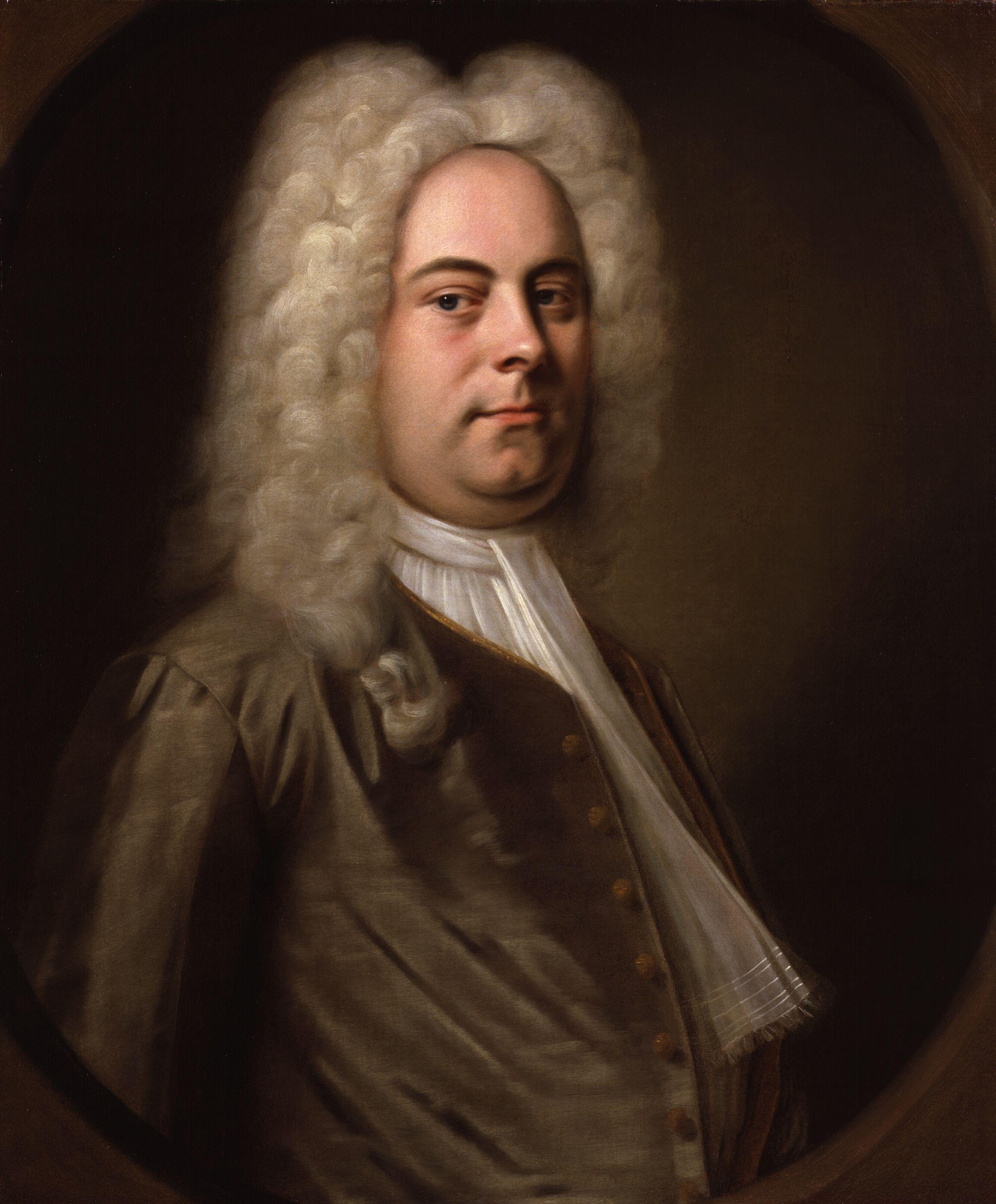 George Frideric Handel, by Balthasar Denner (circa 1726–1728)