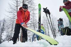 Vybavení na skialp afreeride