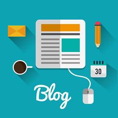 Blog icons design