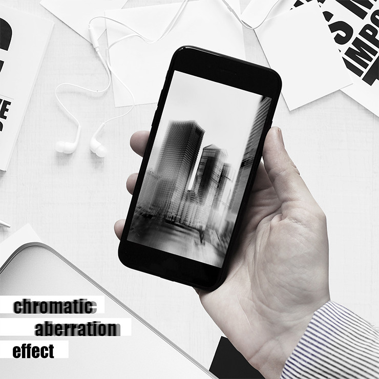 DISTRICT F — MOBILE PHOTO EDITING — CHROMATIC ABERRATION EFFECT ЭФФЕКТ ХРОМАТИЗМА