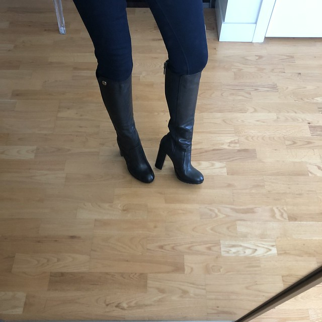 Tory Burch Sullivan Tall Boots, size 7