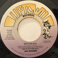 HEAVY D & THE BOYZ:WHO'S THE MAN(LABEL SIDE-B)