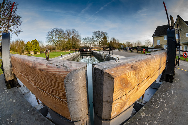 St. johns Lock, Lechlade, gloucestershire. U.K.