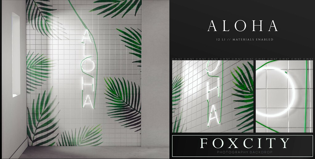 FOXCITY. Photo Booth – Aloha
