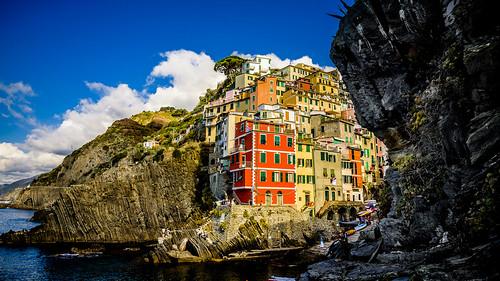 La roca de Riomagliore, Cinque Terre