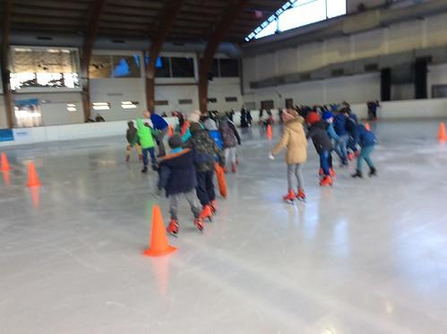 1e Graad op de schaatsbaan