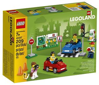 從小玩樂高,長大不三寶!? LEGO 40347【樂高樂園駕駛學院】LEGOLAND Driving School【LEGOLAND限定】