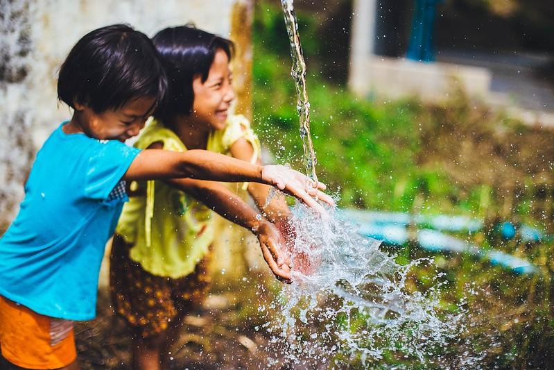 Consumo de agua y niños