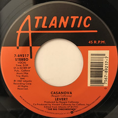 LEVERT:CASANOVA(LABEL SIDE-A)