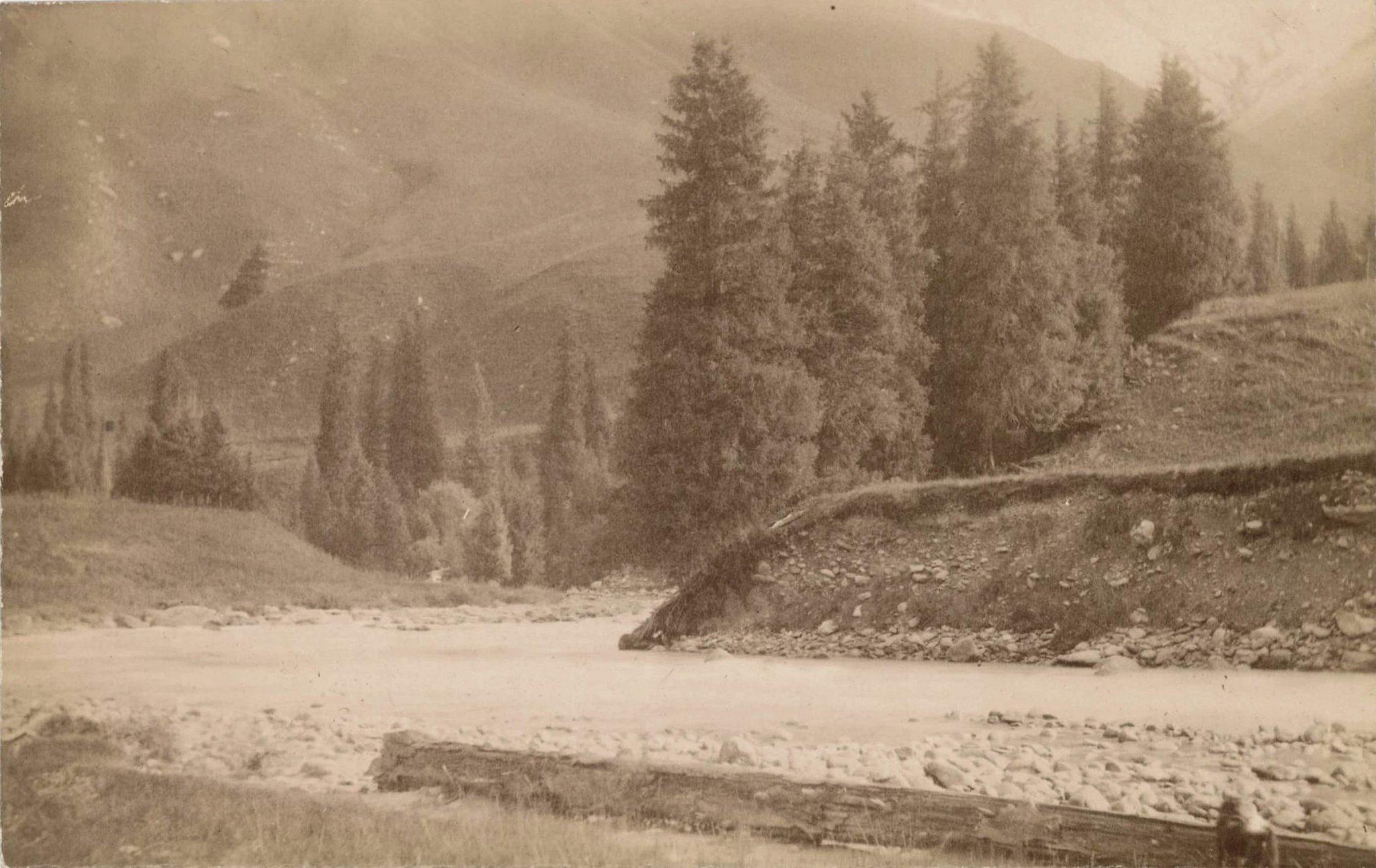 18. Река Каркара в Терскейских горах