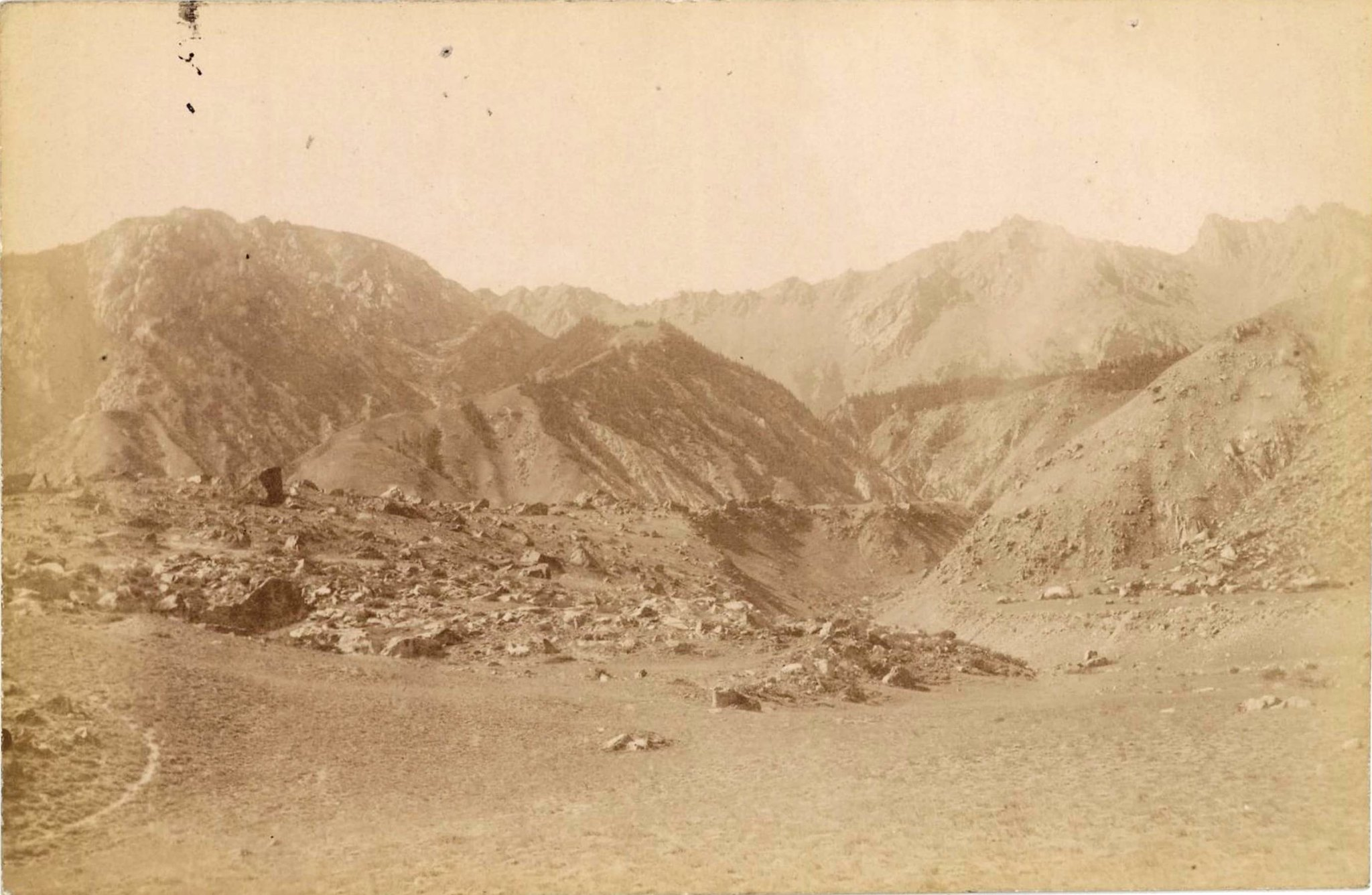 11. Ледники гор Хан-Тенгри. Ледник Западный Моцарт
