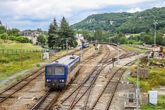 14 juin 2010 x 2132 Train 870161 Brive -> Capdenac Saint-Denis-Prés-Martel (46) - Photo of Montvalent