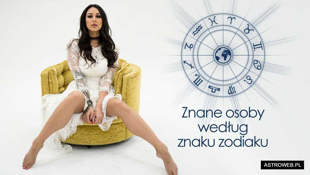 Horoskop znane osoby