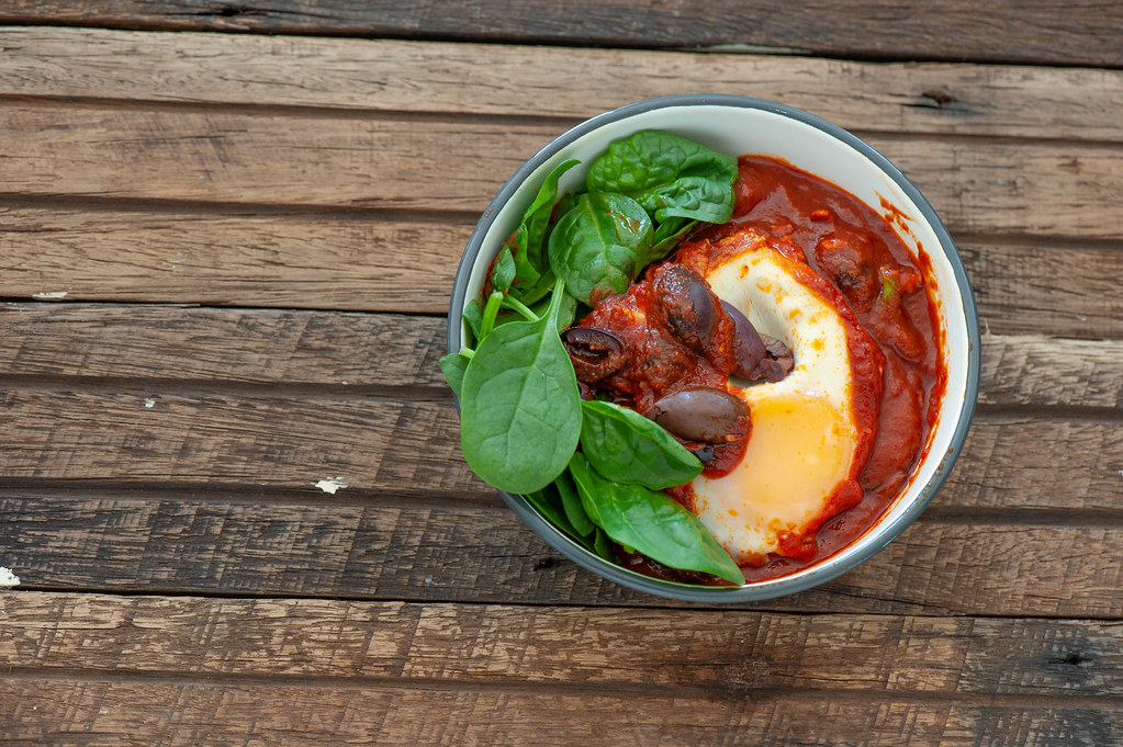Moroccan Egg & Olive Tajine-2