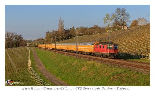 Re 420 162 Poste - Crans-Prés-Cèligny