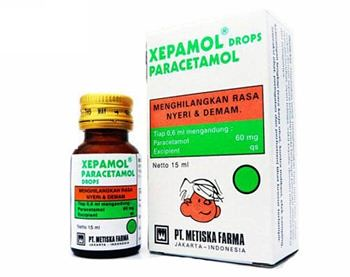 XEPAMOL DROP 15ML
