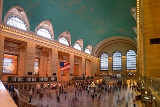 Obrázek Grand Central Terminal. building landmark panorama hdr longexposure tripod
