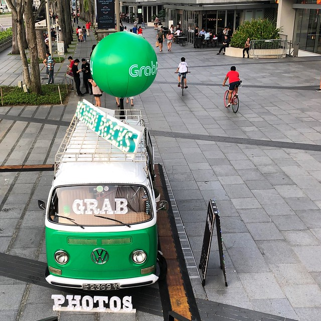 Grabpay commissioned photobooth