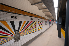 Reopening of the 167 St (B, D) Station