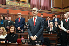 Rep. Arthur O'Neill during opening day ceremonies of the 2019 General Assembly.