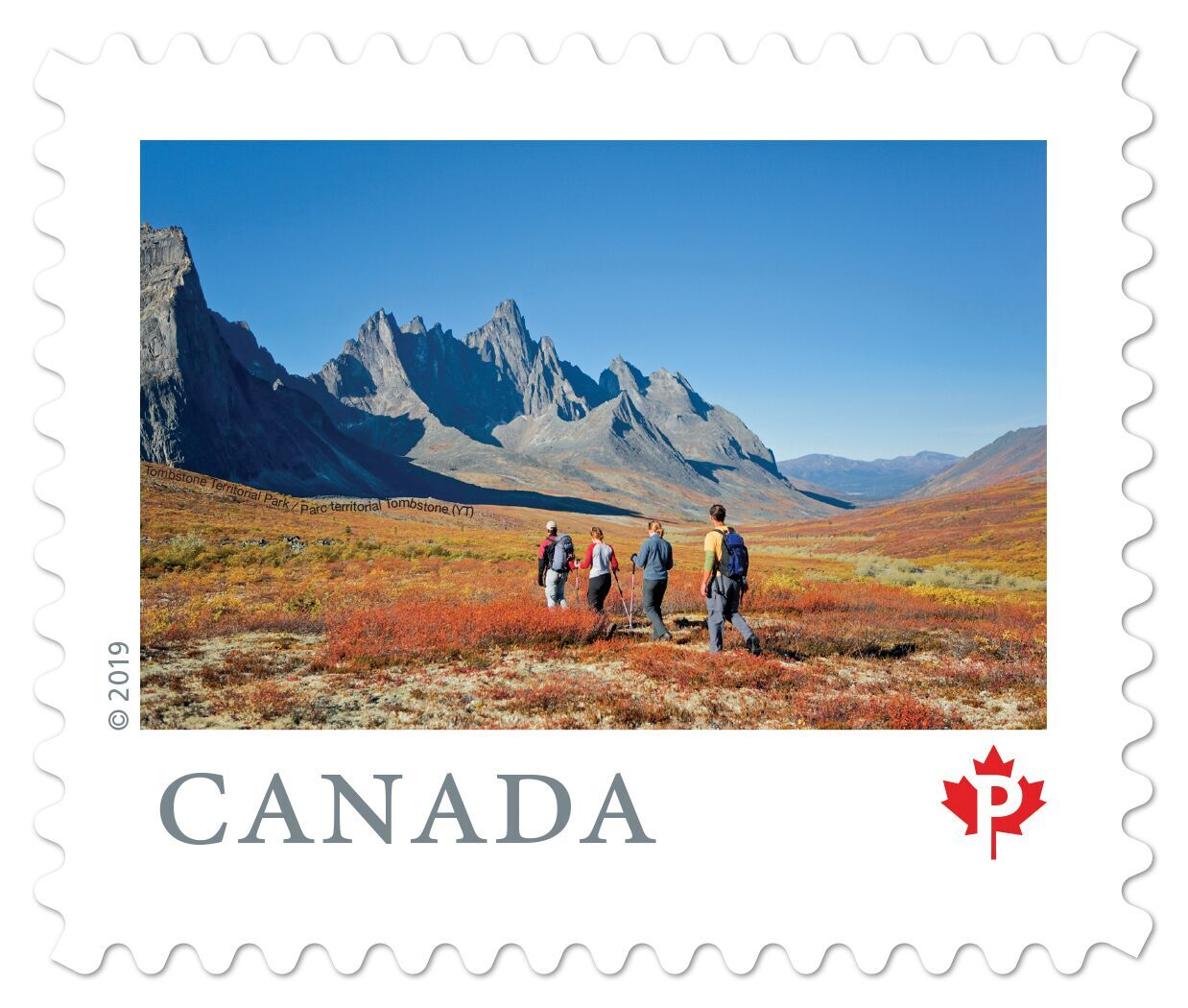 Canada - From Far and Wide (January 14, 2019) Tombstone Territorial Park, Yukon (domestic P rate from booklet of 10)
