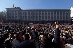 ALBANIA-PROTESTS/