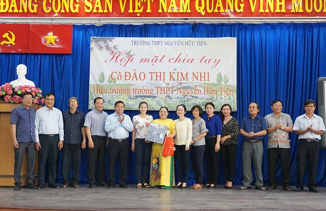 Họp mặt chia tay cô HT Đào Thị Kim Nhi