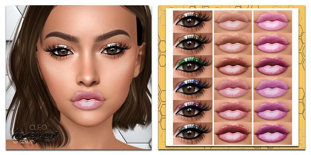 HoneyPot Beauty GENUS Cleo Collection