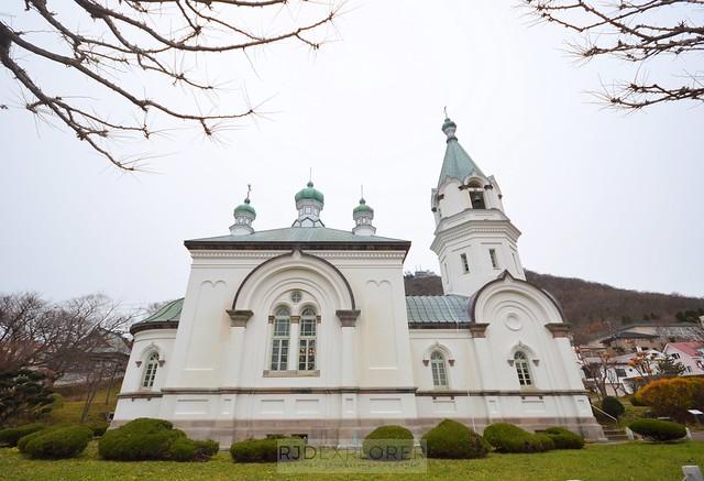 hokkaido itinerary hakodate russian orthodox church