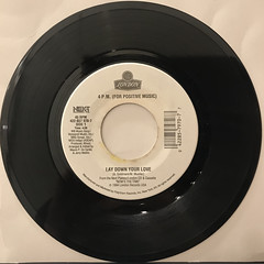4 P.M.(FOR POSITIVE MUSIC):LAY DOWN YOUR LOVE(RECORD SIDE-A)