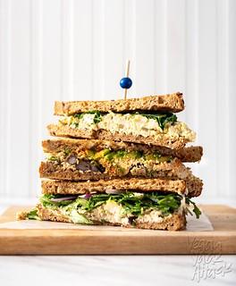 Tofu Egg Salad Sandwiches - 3 ways!